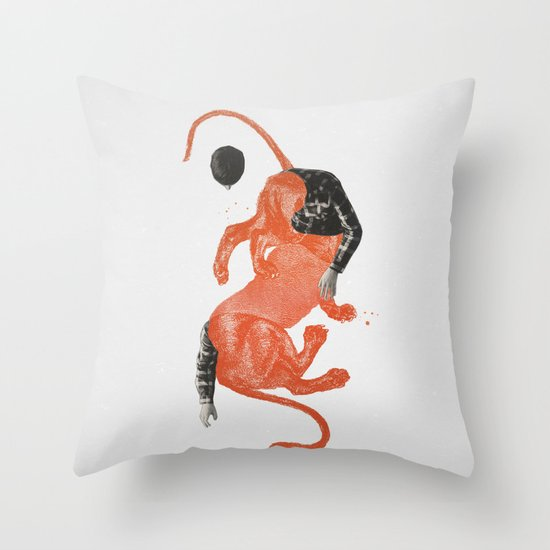 To The Beasts Throw Pillow
