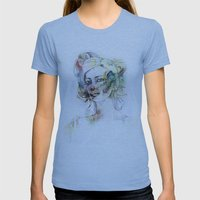 Red Nose Womens Fitted Tee Athletic Blue SMALL