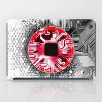 Circuit Board Japan (Fla… iPad Case