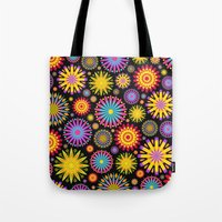 Bright And Colorful Flowers Tote Bag