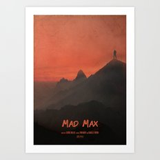 A MOVIE POSTER A DAY: MA… Art Print