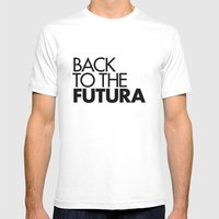 Back to the Futura Mens Fitted Tee White SMALL