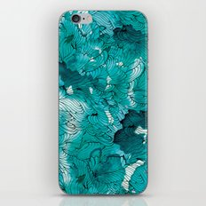 Blue depths iPhone & iPod Skin