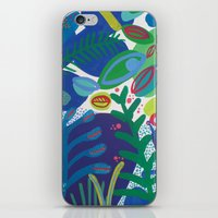 iPhone & iPod Skin featuring Secret garden III by Milanesa