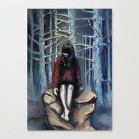 Girl #3 Canvas Print