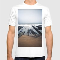 St.andrews Mens Fitted Tee White SMALL