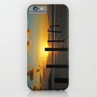 Golden sunset iPhone 6 Slim Case