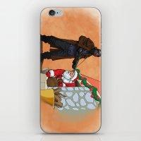 Omar Little strikes again iPhone & iPod Skin