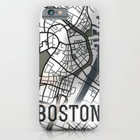 boston iPhone & iPod Cases featuring Boston by Sophie Calhoun