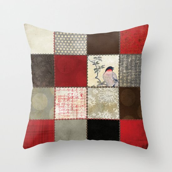 Ravenwood Patchwork Throw Pillow