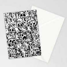 Bunnies & Skulls Stationery Cards
