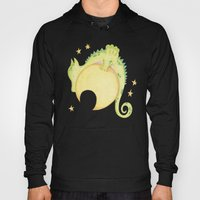 dragon & moon Hoody