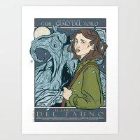 El Laberinto Del Fauno (… Art Print
