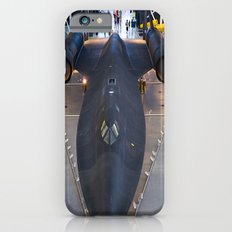 Sr71-Blackbird at the Dulles Air & Space Museum iPhone 6s Slim Case