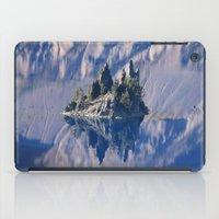 Ghost Ship, Creepy Crater Lake iPad Case