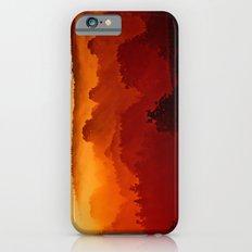 Mystical foggy morning Slim Case iPhone 6s