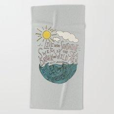 Emerson: Live in the Sunshine Beach Towel