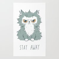 Stay Away Rug