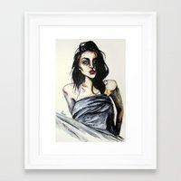 Frances Bean No,4 Framed Art Print