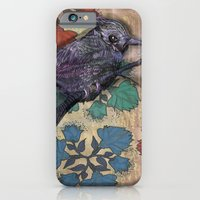 iPhone & iPod Case featuring Weird bird by Anna Tarach