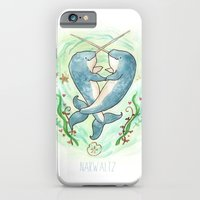 Narwaltz - Narwhal Valentine iPhone 6 Slim Case