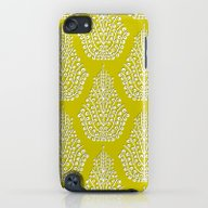 SPIRIT Lime White iPod touch Slim Case