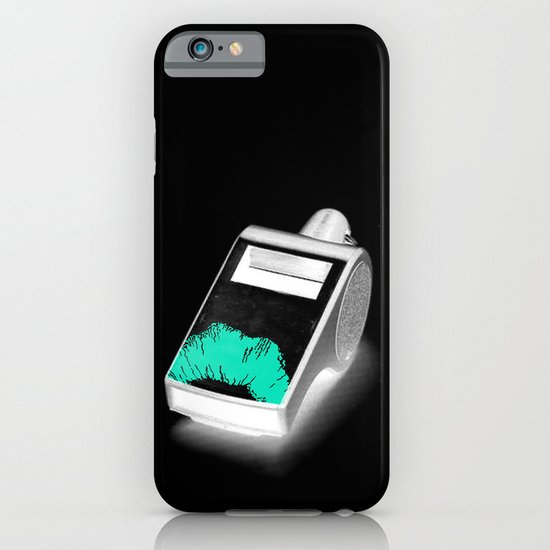 Blow the Whistle iPhone & iPod Case
