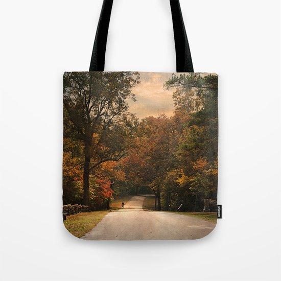 Cycling Season Tote Bag