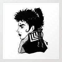 Adam Ant . Prince Charming Art Print