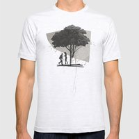 (Down By The) Family Tre… Mens Fitted Tee Ash Grey SMALL