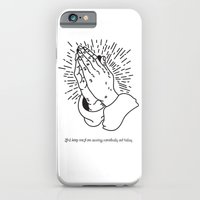 Lord Keep Me From Cussing Somebody Out Today iPhone 6 Slim Case