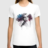 Rooney Womens Fitted Tee White SMALL
