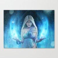 The Snow Queen 2 Canvas Print