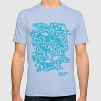 The Rogue Panda Mutation Mens Fitted Tee Athletic Blue SMALL