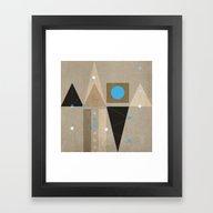 Geometric/Abstract 7 Framed Art Print