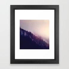 Just walk away Framed Art Print