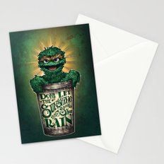 Don't Let The Sunshine Ruin Your Rain Stationery Cards