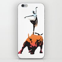 bovine ballet iPhone & iPod Skin