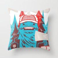 Cornelius : Lumberjack Throw Pillow