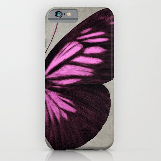 Papillon (Pink) iPhone & iPod Case