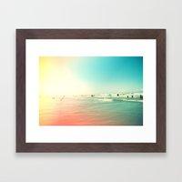 Sunny Side III Framed Art Print