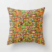 In Christmas Melt Into T… Throw Pillow
