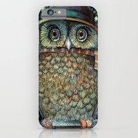 Blue owl iPhone 6 Slim Case