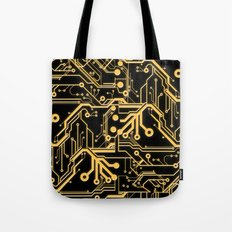 Techno Organic  Tote Bag