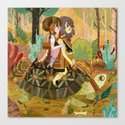 Tortoise Ride Canvas Print