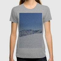 May In AK Womens Fitted Tee Athletic Grey SMALL