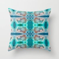 MINERAL DREAMS Throw Pillow