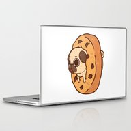 Laptop & iPad Skin featuring Puglie Cookie by Puglie