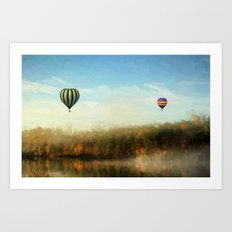 Morning Flight Art Print