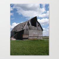Abandoned Barn #7 Canvas Print